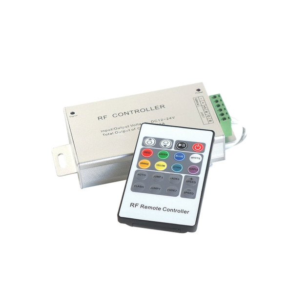 12/24v LED Colour Changing RF Controller with Remote 10/15m Range