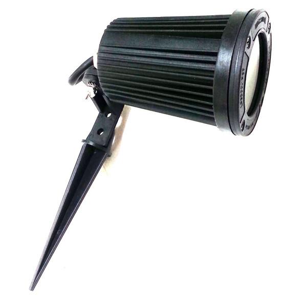 68.4001.50 IP66 MR16/GU5.3 35w Outdoor Spike Light in Black
