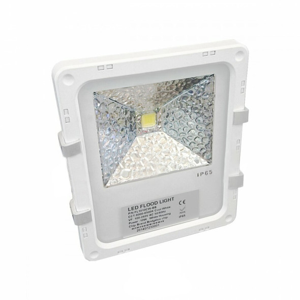 10w High Output LED Outdoor Floodlight for Landscape Lighting in White