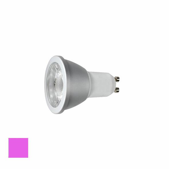 6 Watt Magenta LED GU10 Dimmable LED Bulb