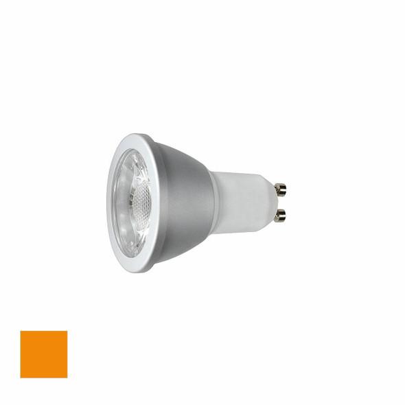 6 Watt Orange LED GU10 Dimmable LED Bulb