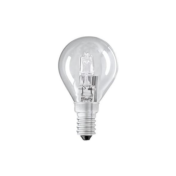 28 Watt SES E14 Clear Golf Ball Energy Saving Halogen Bulb