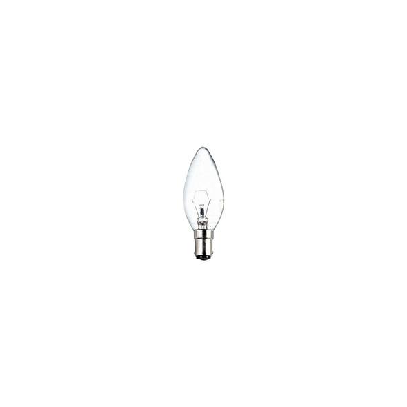40 Watt SBC Opal Candle Bulb