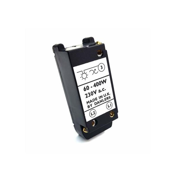Danlers Dimmer Module Switch 1 Gang 2 Way 60-400W