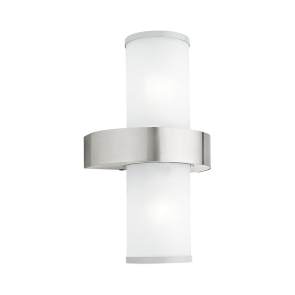Beverly 86541 IP44 Outdoor Wall Light in Stainless Steel