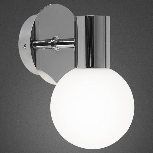 41522 Skylon IP44 Rated Bathroom Wall Light in Polished Chrome