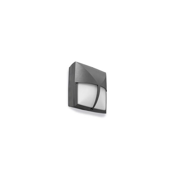 Mimer 05-9114-Z5-B8 100W Outdoor Wall Light in Urban Grey IP54