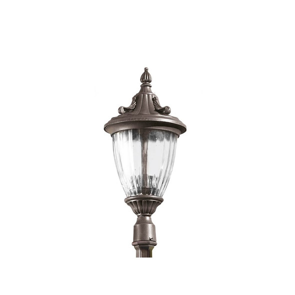 Galatea 60-9151-18-E7 Outdoor Street Light Lamp Head in Oxide Brown IP23
