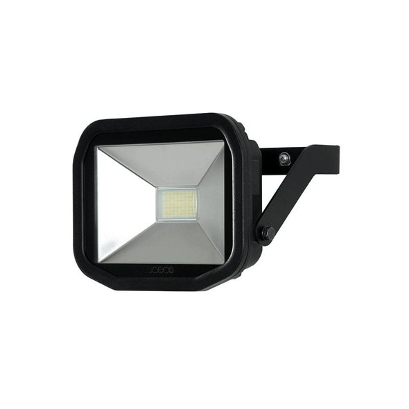 Luceco Guardian Slimline PIR Sensor 22w LED Outdoor Security Flood Light in Black