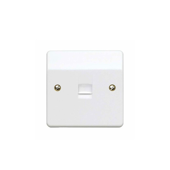 Logic Plus K427 1 Gang Secondary BT Telephone Outlet in White