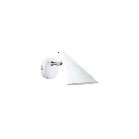 72711001 Vanila Wall Light in White with Switch