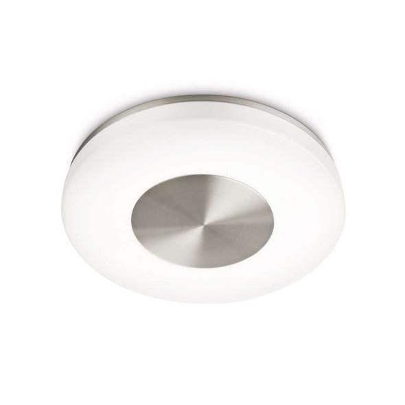 Round Ceiling Flush Light in Math Chrome Finish