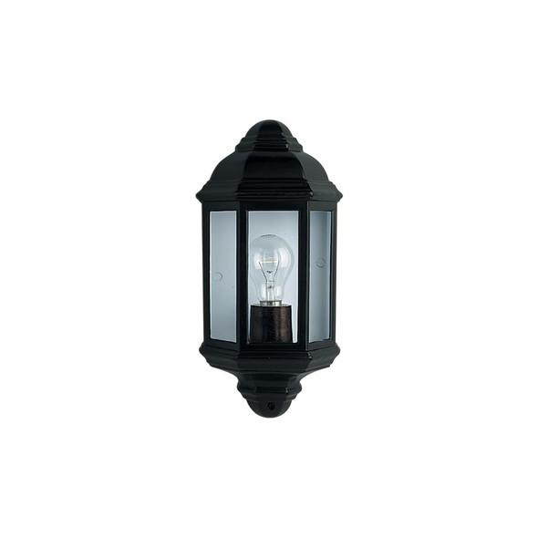 280BK Outdoor / Porch Wall Light in Black IP44