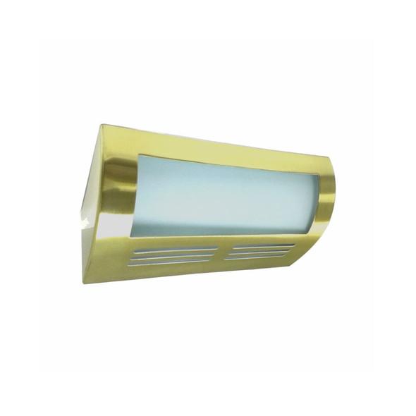 2433SB Wall Washer Uplight in Satin Brass