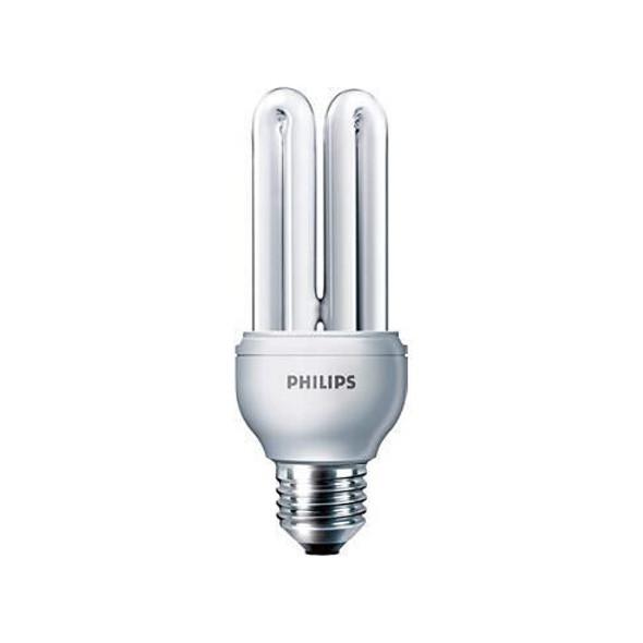 Genie 11w Compact Fluorescent Energy Saving Light Bulb B22 BC 224077 Warm White