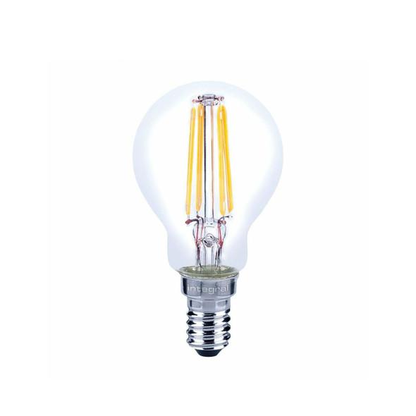 Integral 3.5 Watt LED Dimmable SES Golf Ball Bulb Warm White 2700K