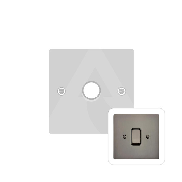 Stylist Grid Range 1 Gang Dimmer (400 watts) in Polished Bronze -  - Trimless - L07.360.400