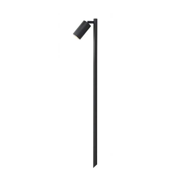 Outdoor Ground Adjustable Spike Spotlight in Black IP65
