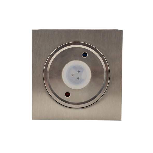Up/Down Outdoor 6W Double Beam LED Wall Light in Stainless Steel 316L