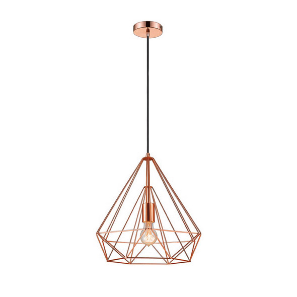 Uber Chic Pendant Light in Copper