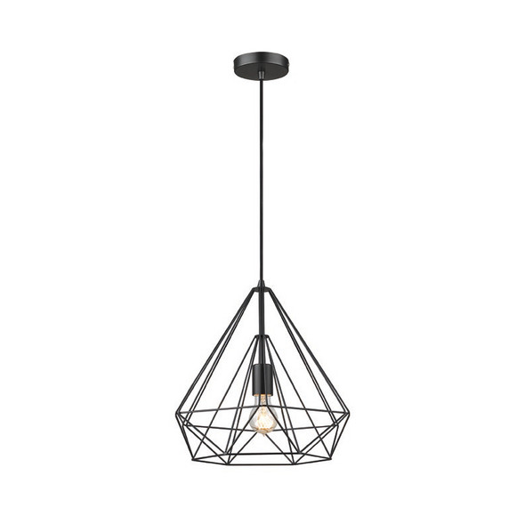 Uber Chic Pendant Light in Matt Black