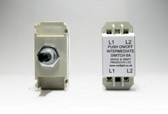 Varilight Intermediate Push On/Off Switch Module