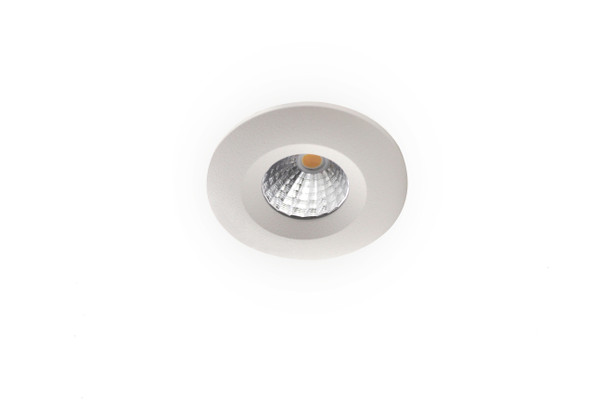 Mini 3w Fixed Dimmable LED Downlight in 3000K Warm White IP65 + Fire Rated