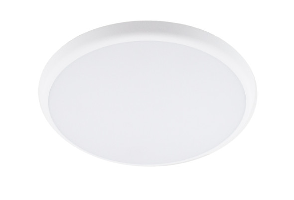 Slim Bulkhead IP40 LED Wall & Ceiling Light with Microwave Sensor CCT