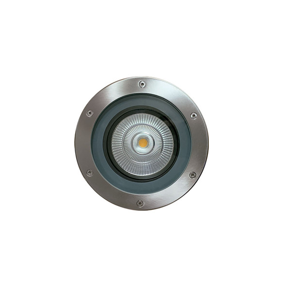 Adjustable and Dimmable Inground TRIAC Light in Stainless Steel IP67