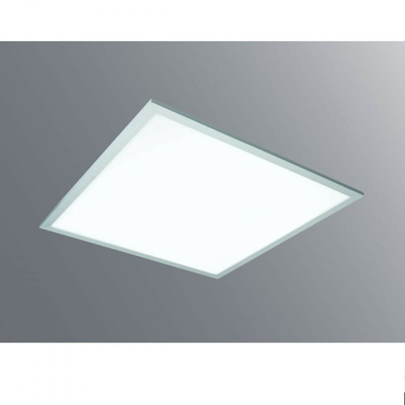 Ultra Slim Square LED Ceiling Panel 40W 5700K with White Bezel-595 x 595 x8mm