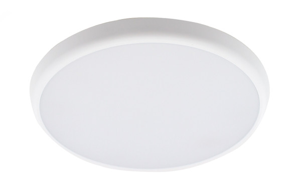 Slim Bulkhead LED Wall & Ceiling Light + Emergency