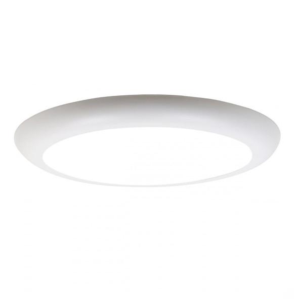 Airflat Ultra Slim Round 18w LED Ceiling Panel Warm White 3000K IP20 Surface Mountable