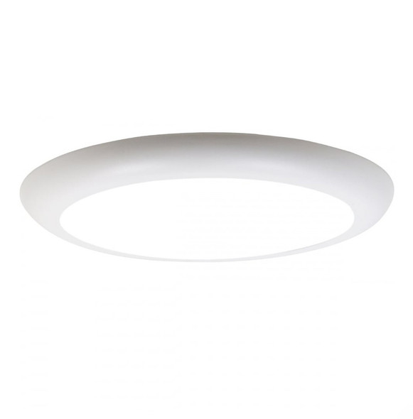 Airflat Ultra Slim Round 18w LED Ceiling Panel Cool White 6000K IP20 Surface Mountable