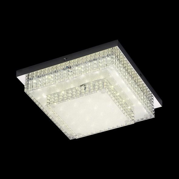 Julieta Square LED Flush Light in Chrome