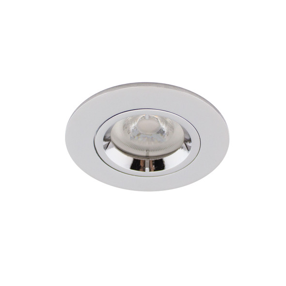 Fixed GU10 IP65 Downlight in Polished Chrome (Lamp Not Included)
