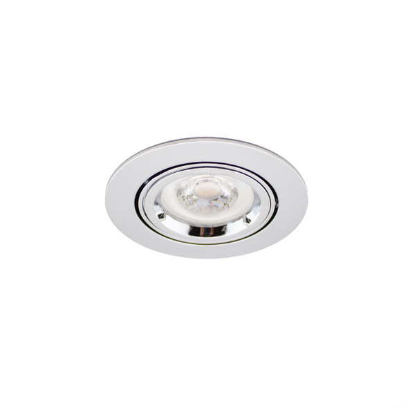 GU10 Adjustable Downlight in Polished Chrome (Lamp Not Included)