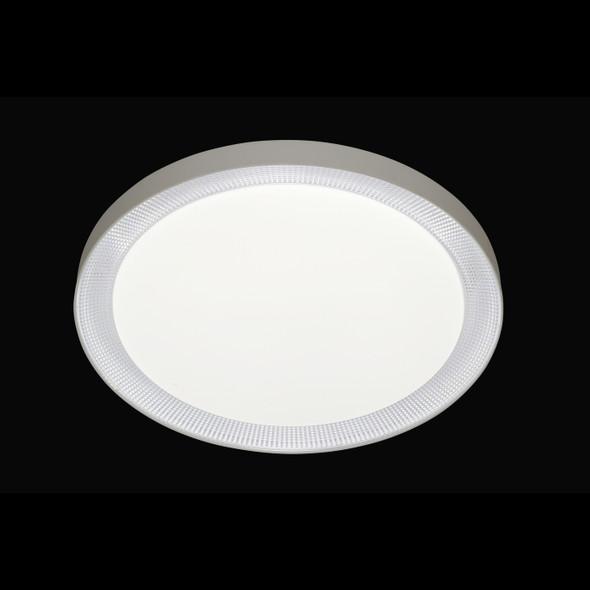 Evijan Round LED Flush Light in White Finish CCT Changeable Temperature