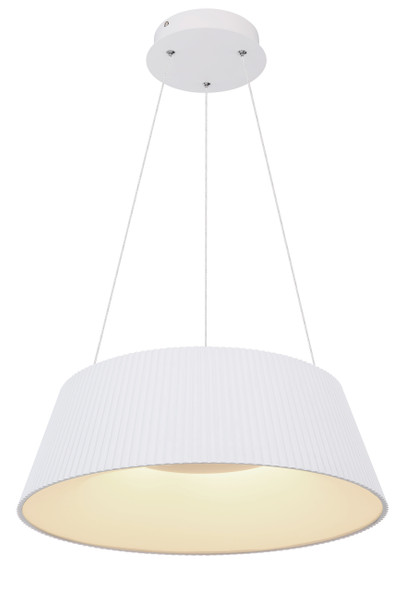 Contemporary LED Pendant Light in White CCT Changeable Temperature