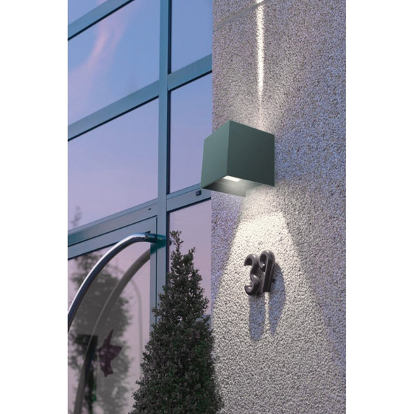 Up/Down Adjustable Double Beam Light in Grey
