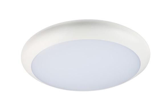 LED Bulkhead Wall & Ceiling Light +Emergency IP65