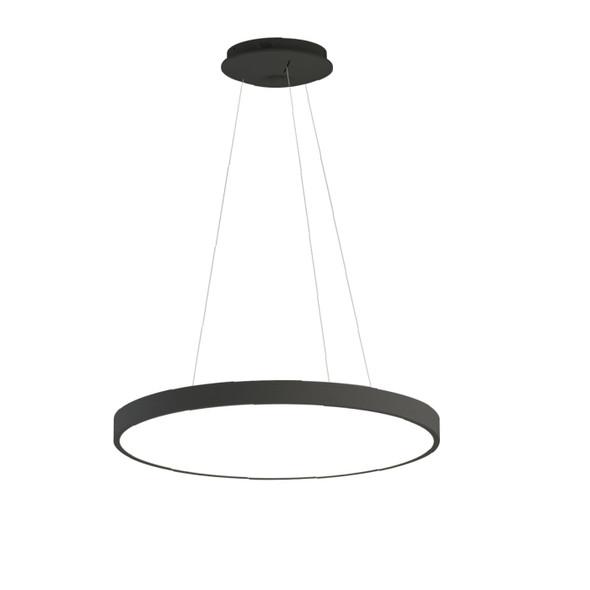 Dimmable Slim Ultra-Modern Drum Pendant Light 3000K