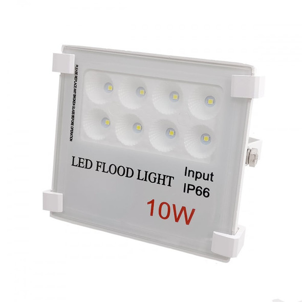 High Output LED Outdoor IP66 Security Floodlight in White 6000K