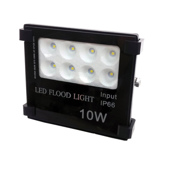 0w High Output LED Outdoor IP66 Security Floodlight in Black 6000K