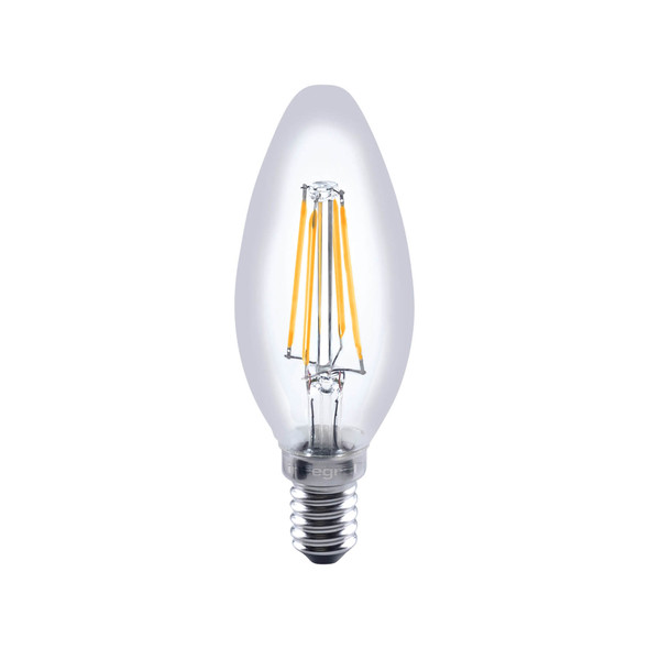 Integral LED 4.5 Watt LED Dimmable Candle Bulb SES 2700K Warm White