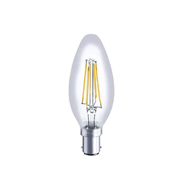 Integral LED 3.5 Watt LED Dimmable Candle Bulb SBC 2700K Warm White