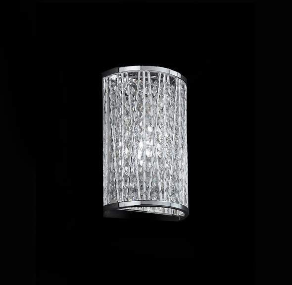 Woven Laser Cut Design Wall Light with A Class Crystal
