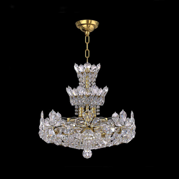 Crystal Chandelier in Chrome Finish