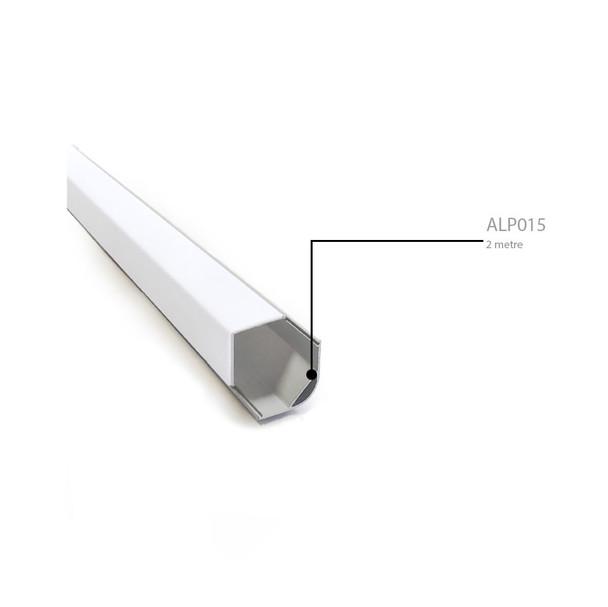 Large Aluminium Corner Surface Profile 2m