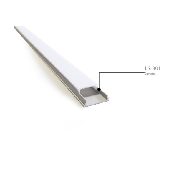Bendable Aluminium Surface Profile 2m