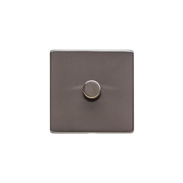 Studio Range 1 Gang Trailing Edge Dimmer in Polished Bronze - Trimless - Y07.260.TED